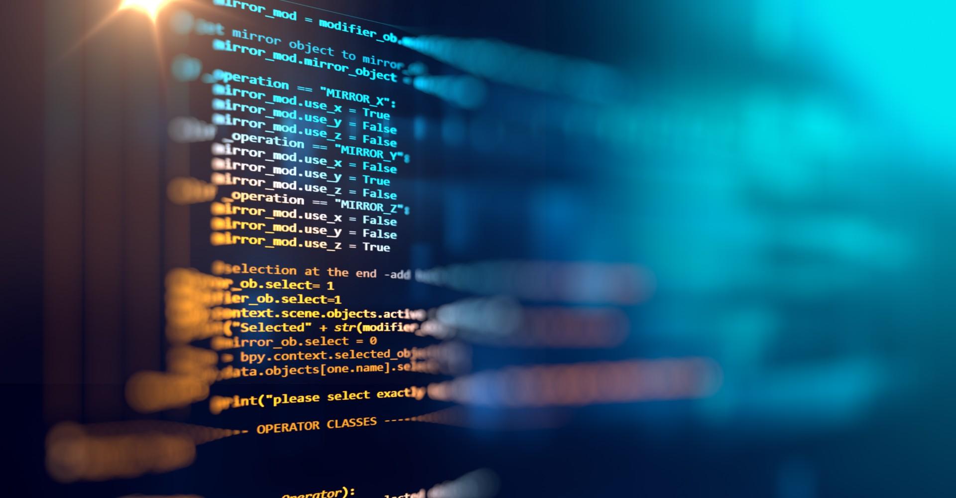 secure software development concept